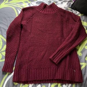 Women's American Eagle Turtleneck, Maroon, Small